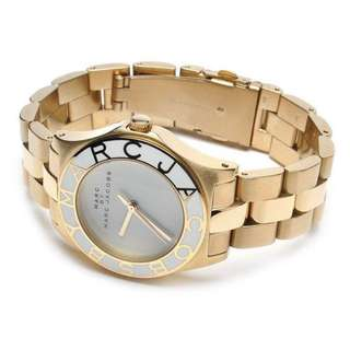 Marc By Marc Jacobs Ladies Blade Watch in Gold