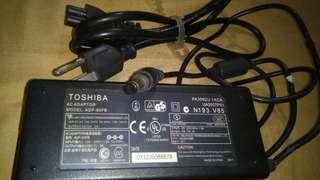 Toshiba laptop charger original
