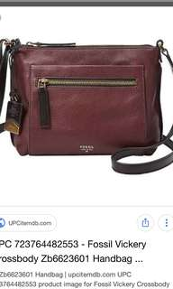 NEW! fossil bag