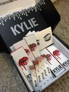 Original Kylie lip kit and liquid lipstick