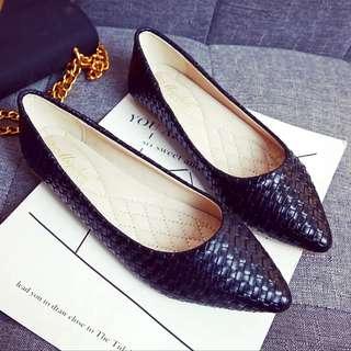 🚚 大尺碼女鞋 工作鞋 平底娃娃鞋