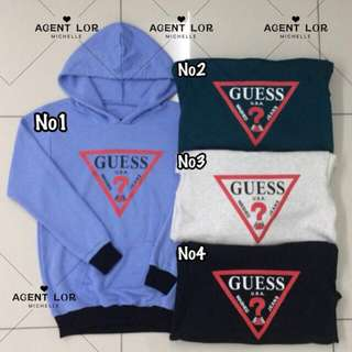 Guess Sweater Hoodie (READY STOCK)