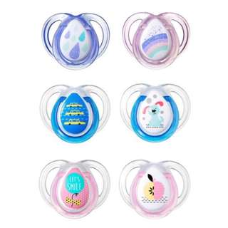 Tommee Tippee 0-6m Anytime Soothers