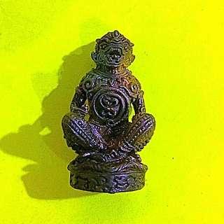 Phra Hanuman amulet by Lp Rak (Victory, courage, success)