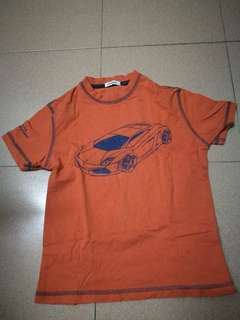 Kids apparel lamborghini automobili car