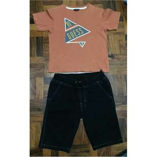 Branded boy's clothes