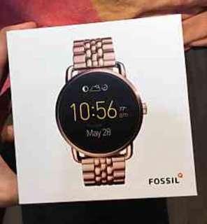 🚚 FOSSIL Q wander智慧錶