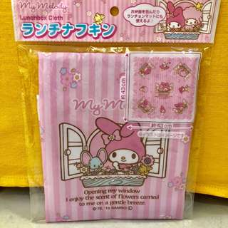 My Melody Lunch Box / table top Cloth