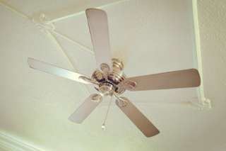 5 bladed 52 inch Silver Ceiling Fan
