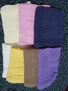 Lot of Baby Knitted Blankets - sold as set