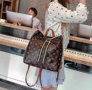 LV DOUBLE PURPOSE BAG rt-400 Size : 13 inches Code : Co