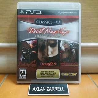 Playstation 3 Games : PS3 Devil May Cry Trilogy HD Remastered Collection