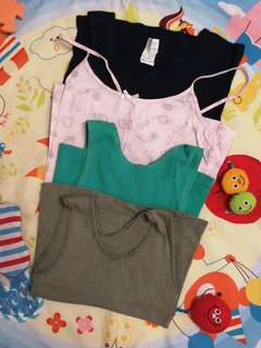 8 to 10y girl singlets/sleeveless tops