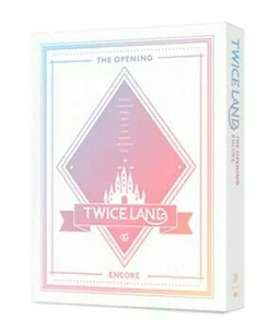 TWICE - TWICELAND THE OPENING DVD (ENCORE)