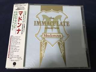 Madonna The Immaculate Collection (Japan Version)