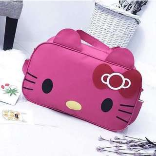 HELLO KiTTY TRAVEL BAG rt-P400 Size : 19 x 13 inches Code : Co