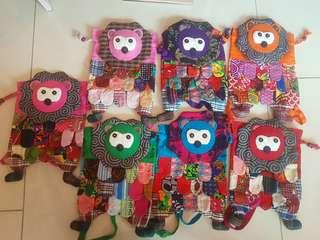 Handmade lion bag