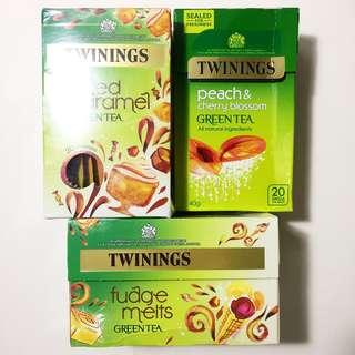 6/17截止/英國唐寧綠茶、果茶、花茶買二送一/平均每盒165元起含運/官網直送/英國代購