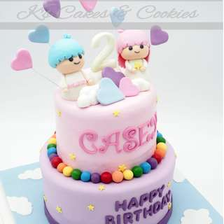 LITTLE TWIN STAR 3D CAKE