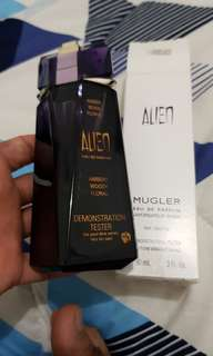 Parfum Original tester thierry mugler alien 90ml