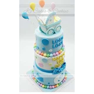 100 DAYS 3D CAKE