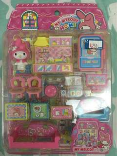 My Melody Tiny Playset