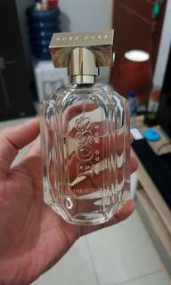 Parfum original hugo boss scent for her sisa 70%