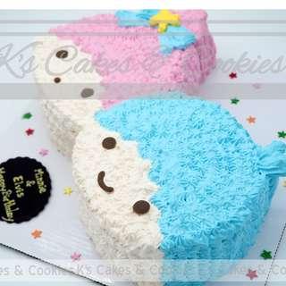 LITTLE TWIN STAR 2D CAKE