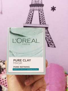 L'Oreal Clay Mask Pore Refining