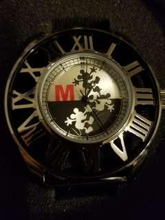Mickey Mouse metallic watch 米奇帶錶