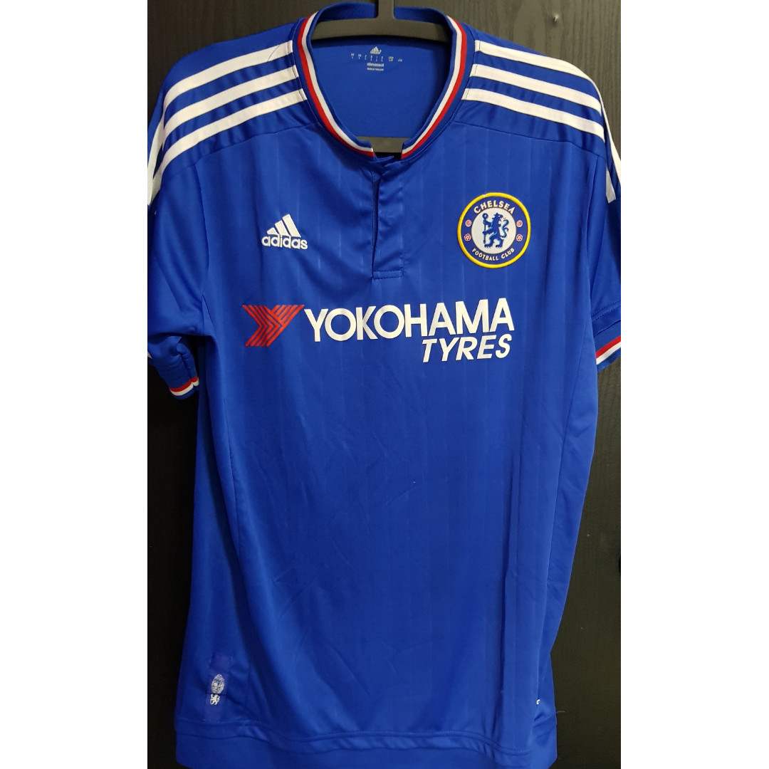 new style fb694 360b1 Adidas Chelsea Jersey/ Shirt - L