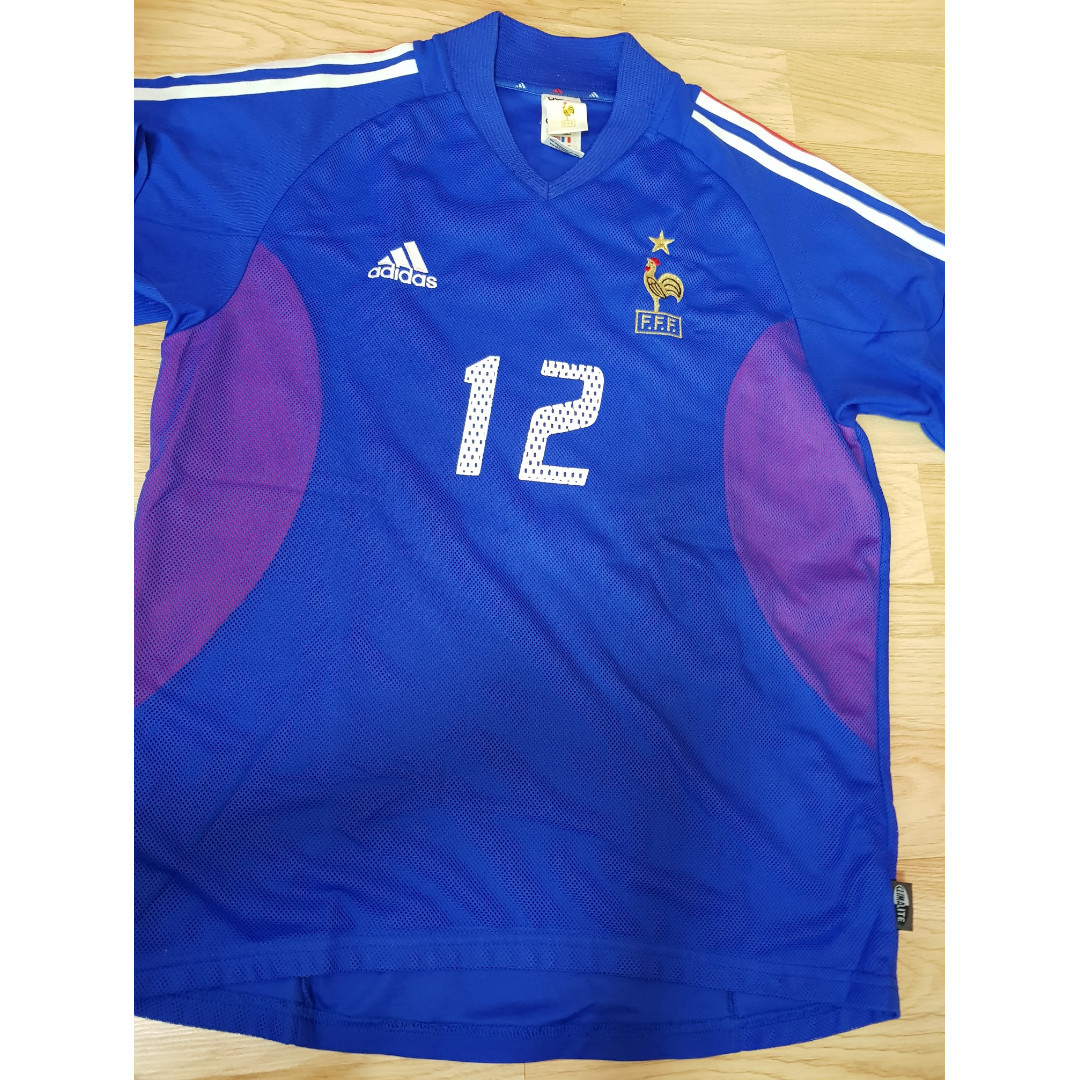 watch 0c75c 5efa6 Adidas France ( Henry ) World Cup Jersey / Shirt - M