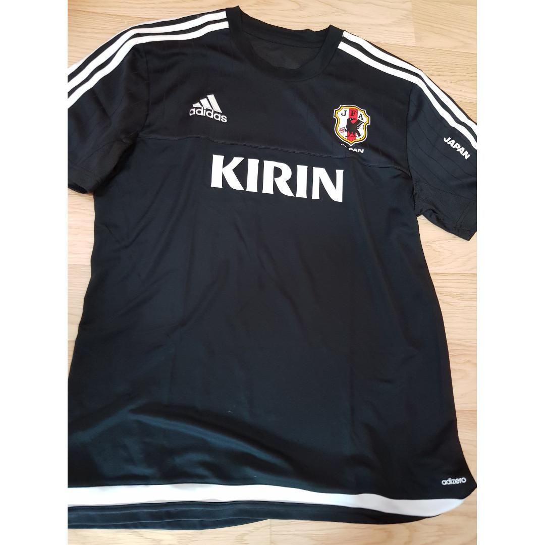 Adidas Japan Training Shirt   Jersey (with KIRIN) - Size XO (about M ... 29e7b73e7