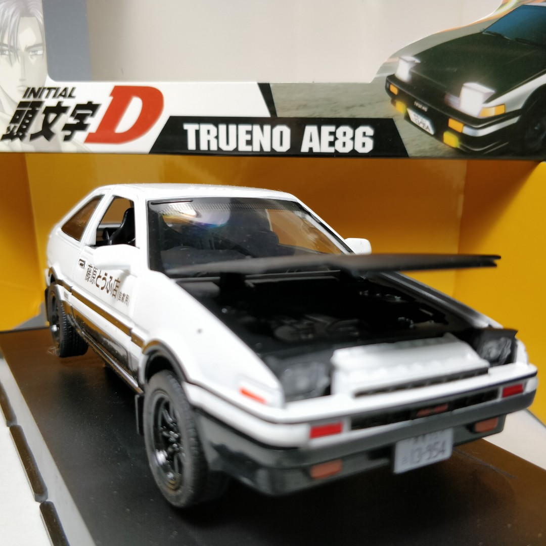 AE86 Initial D Toyota scale model car collectables