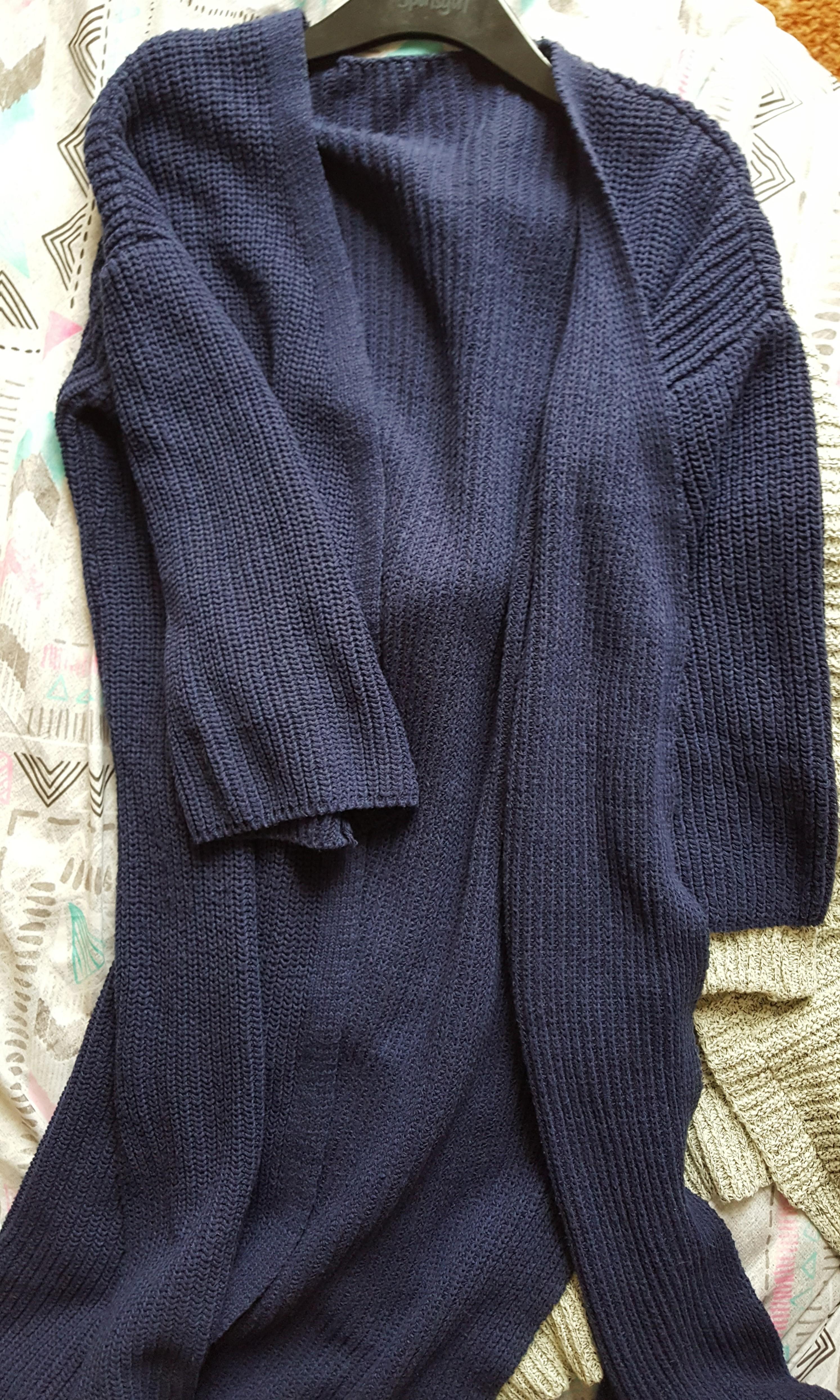 Blue Knit cardigan