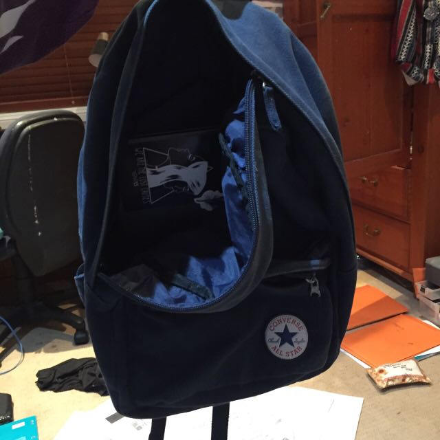 Converse strap back pack