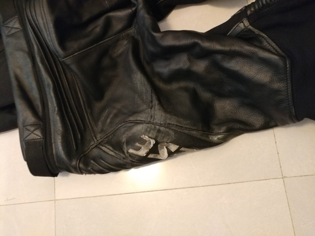 Dainese c2 perforated leather pants - size 50