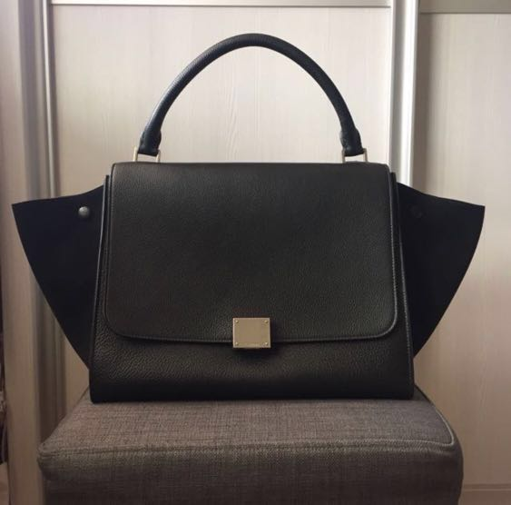 4cef6463b8e4 Discontinued Celine Trapeze Bag with Receipt