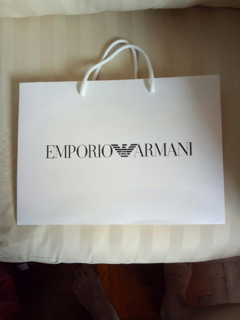 Emporio Armani Paper Bag (3 nos available) bf56eb5beb577
