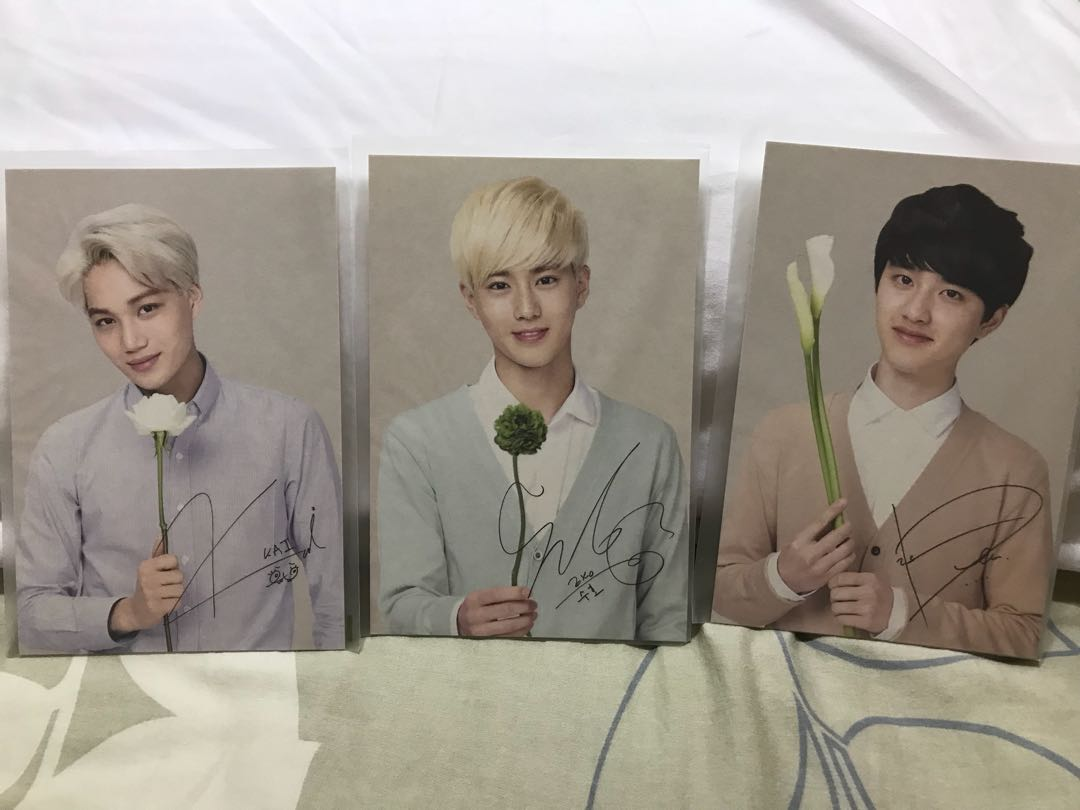 EXO Nature Republic Postcards