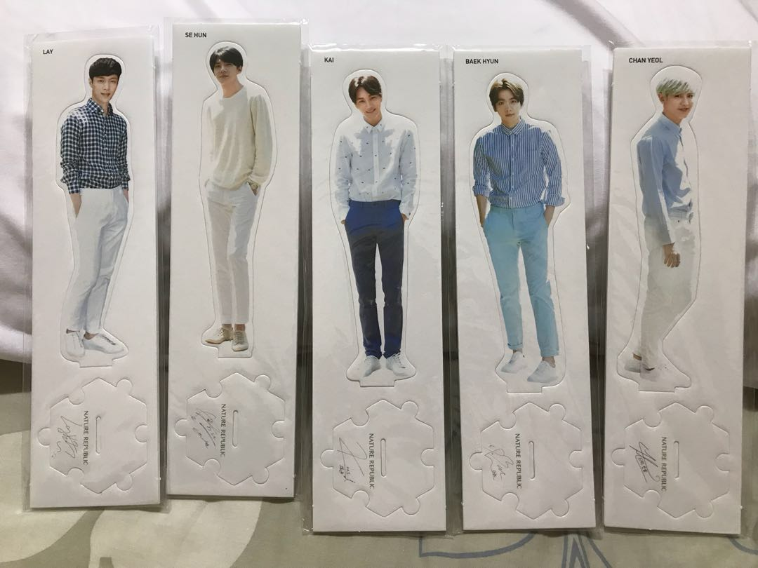 EXO Nature Republic Standee