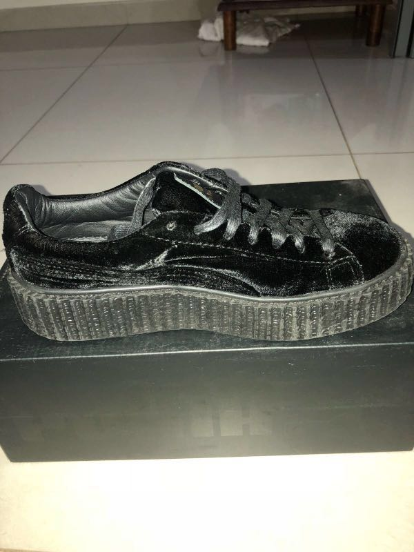 wholesale dealer 03860 7e213 Fenty x Puma Creepers Velvet, Women's Fashion, Shoes ...