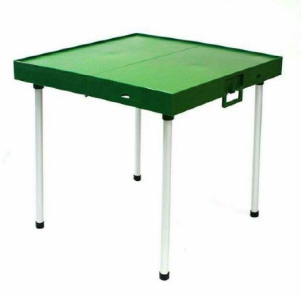Foldable mahjong table