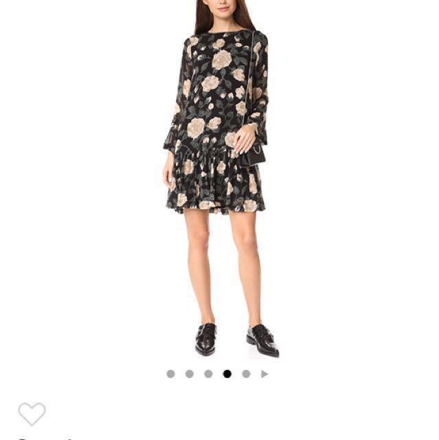2eaf64b5 Ganni - Carlton Georgette Dress, Women's Fashion, Clothes, Dresses ...