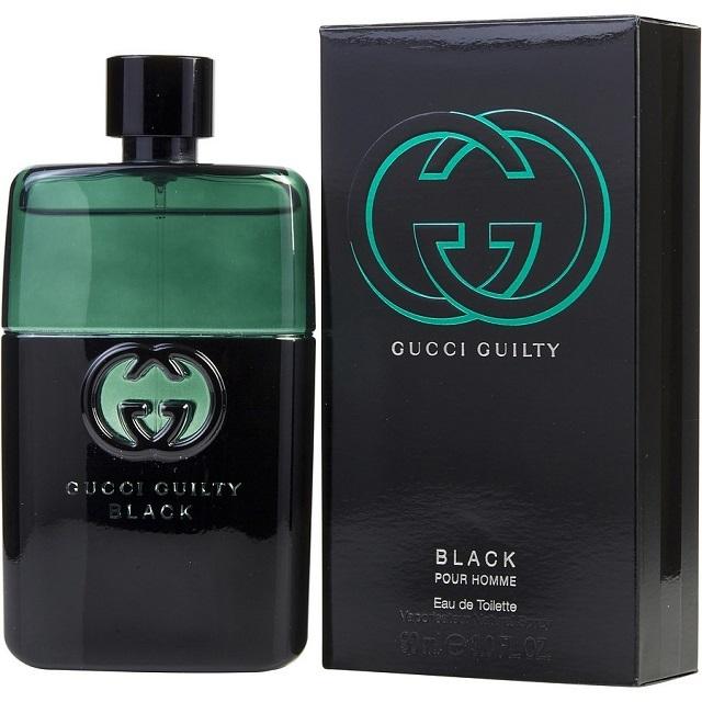 cd8ec98279 Gucci Guilty Black EDT for Men (50ml/90ml/Tester)