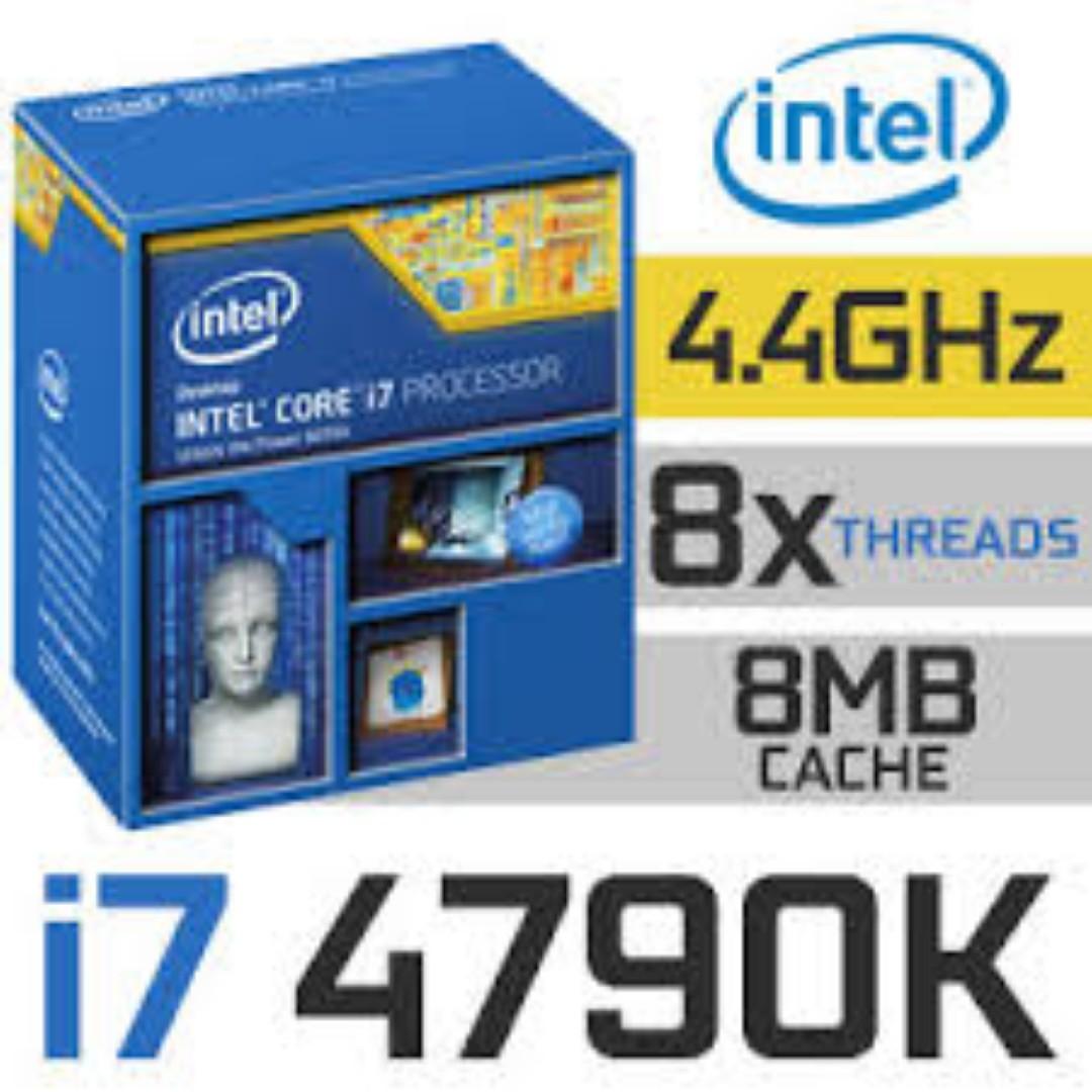 Intel Core I7 4790k Lga1150 Box Cpu Karmashares Llc Leveraging 4790 34 Socket 1150 Photo