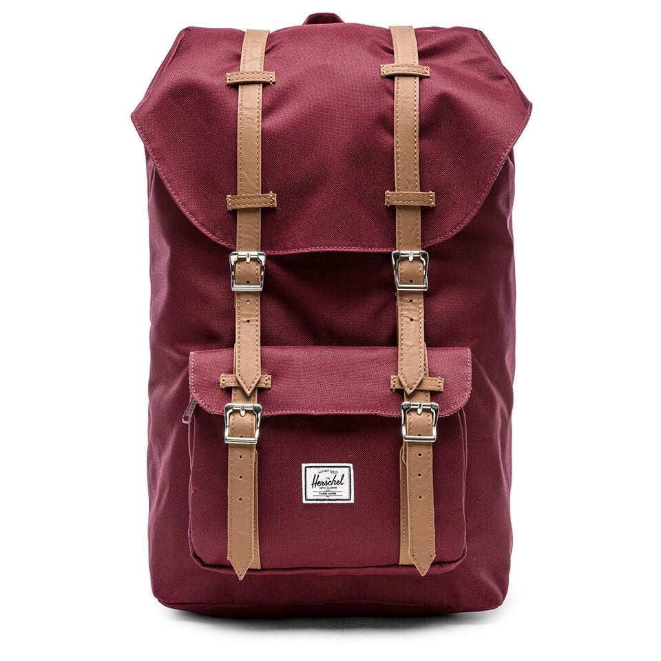 b180176cff0 Instock  Herschel Little America 25L Backpack Red Wine