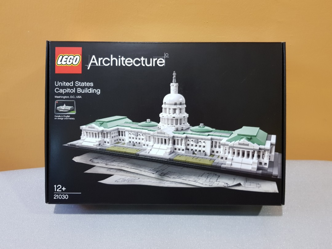 Lego Architecture 21030 United States Capitol Building Toys Games Bricks Figurines On Carousell