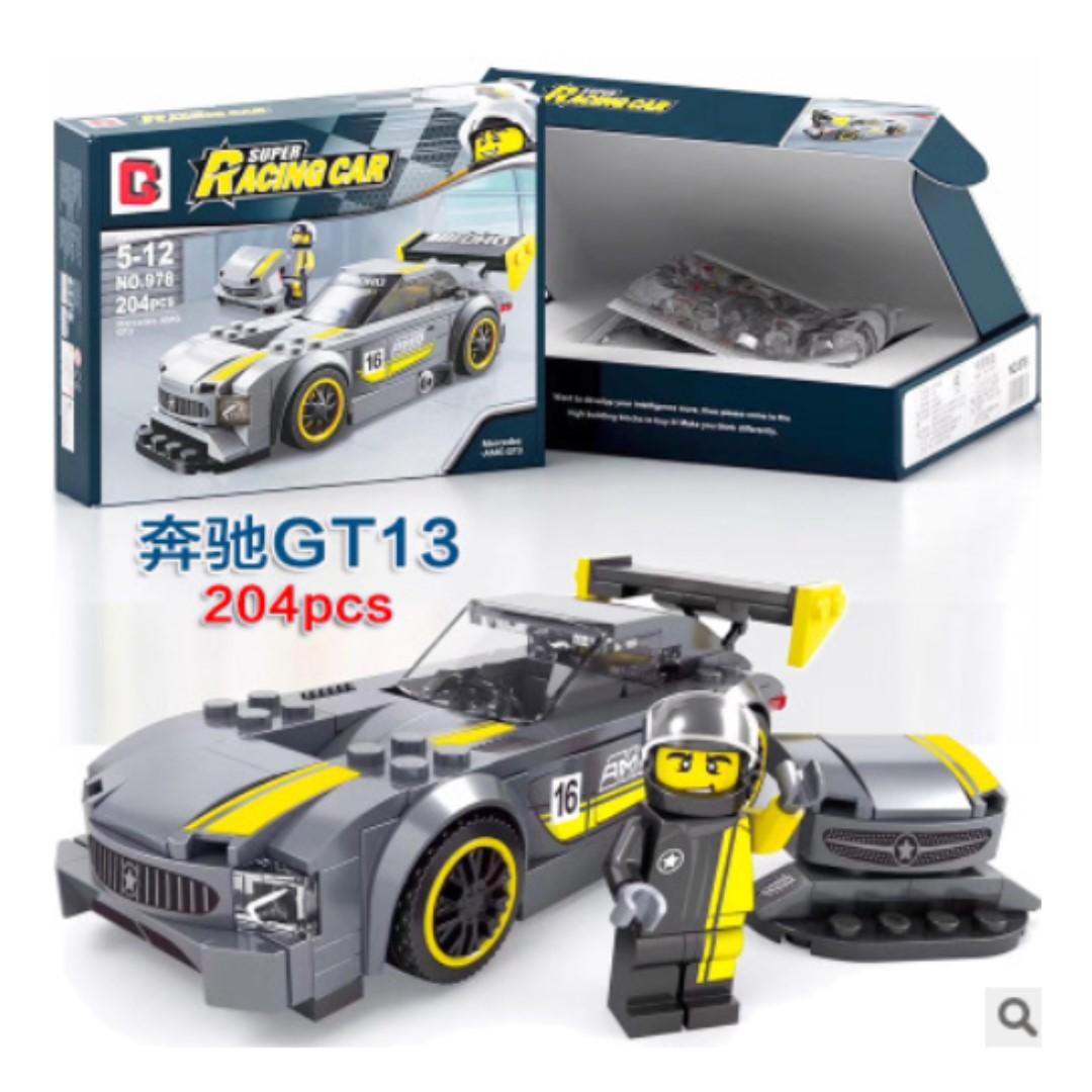 Lego-compatible Racing car series Mercedes GT13