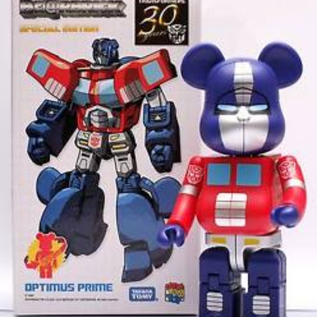 53066847 Limited edition BearBricks 200% Optimus Prime, Toys & Games, Others ...